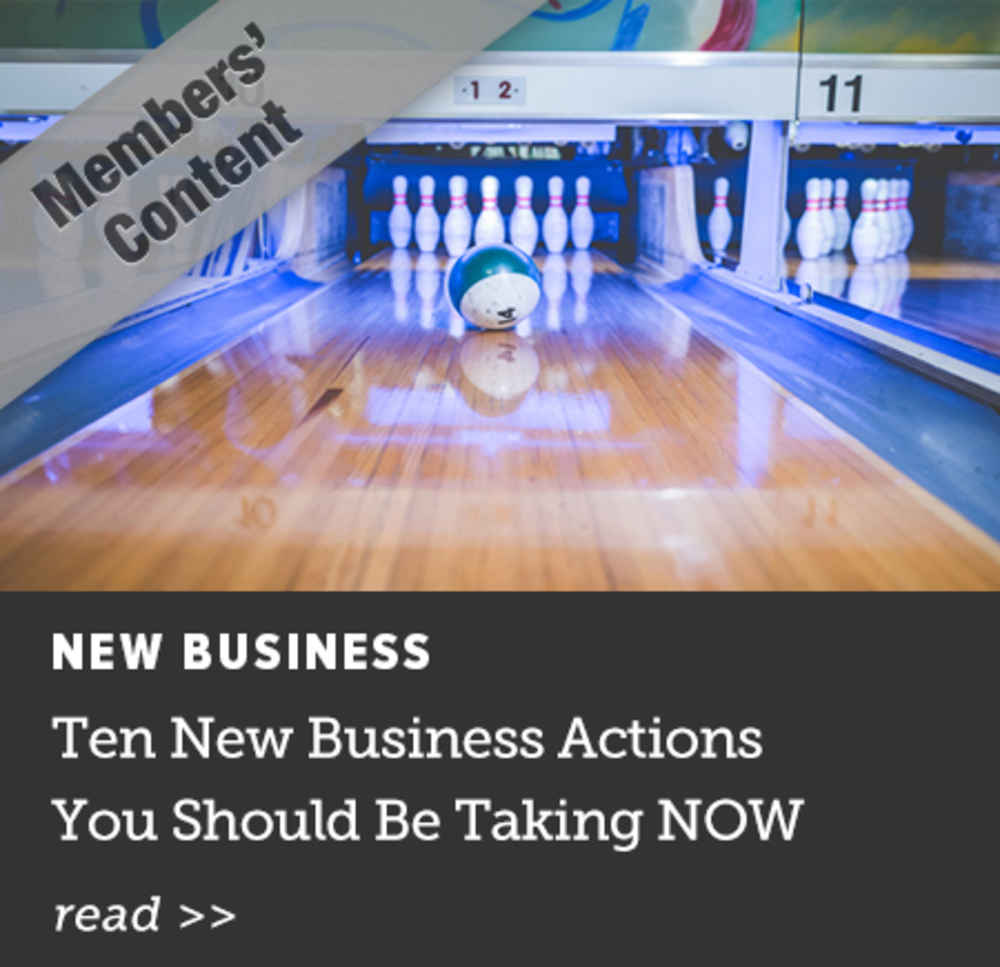 Ten New Business Actions You Should Be Taking NOW