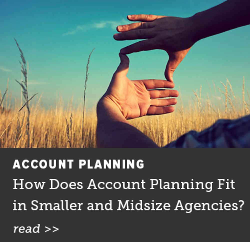 How Does Account Planning Fit