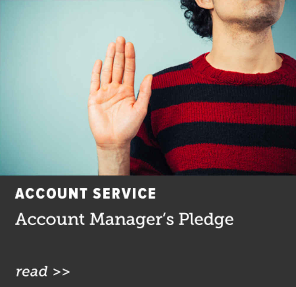 Account Managers' Pledge
