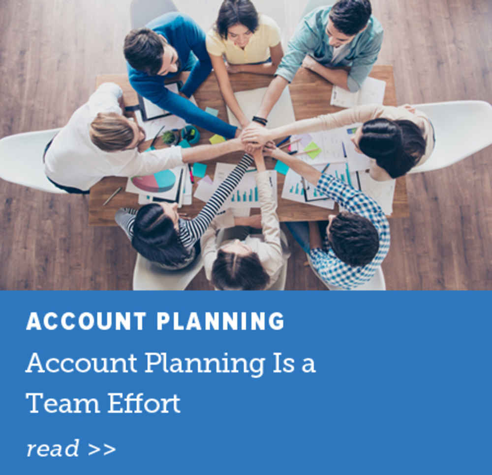 Account Planning Is a Team Effort