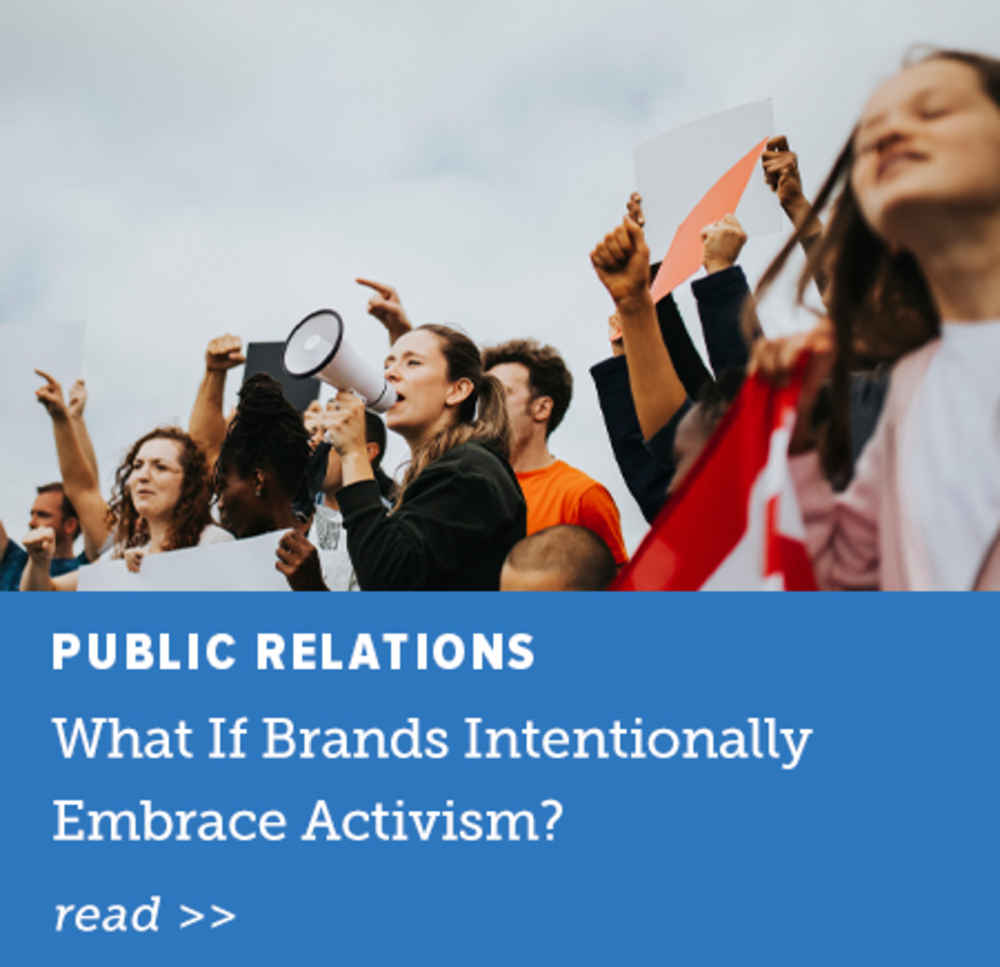 What If Brands Intentionally Embrace Activism?