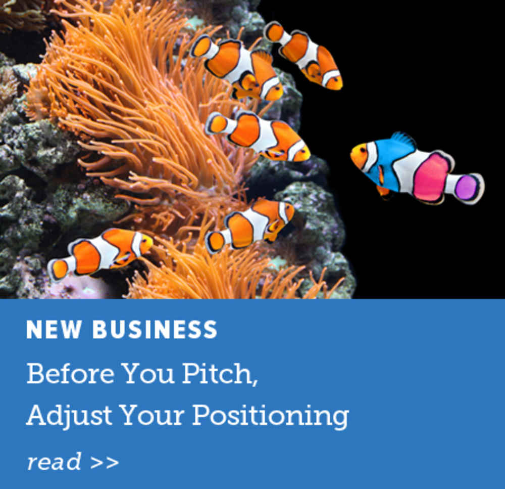 Before You Pitch, Adjust Your Positioning