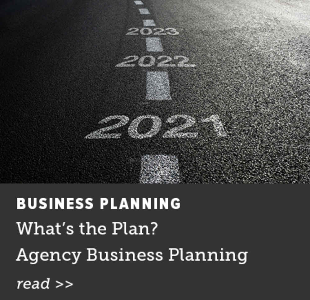 What's The Plan? Agency Business Planning