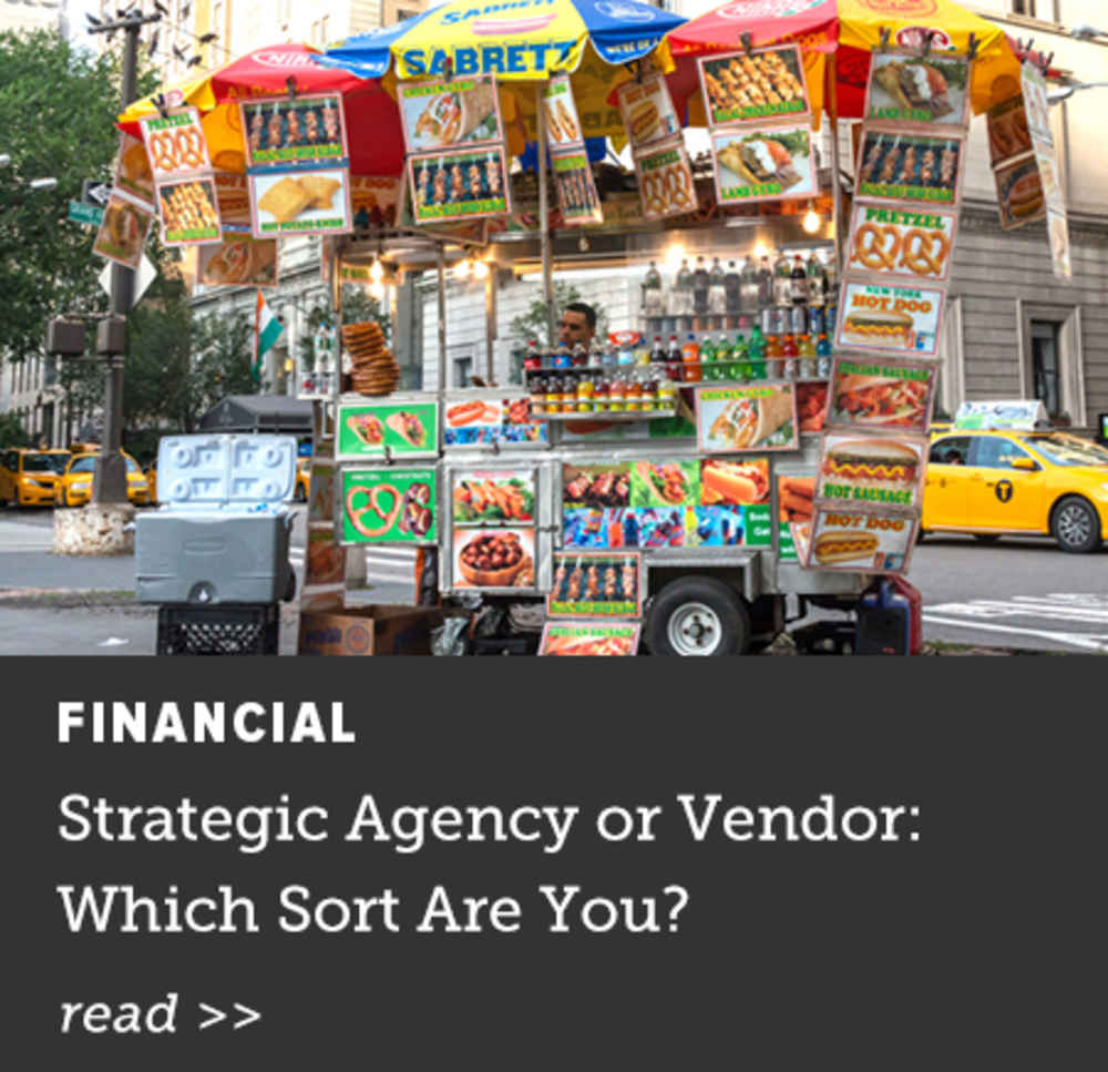 Strategic Agency or Vendor