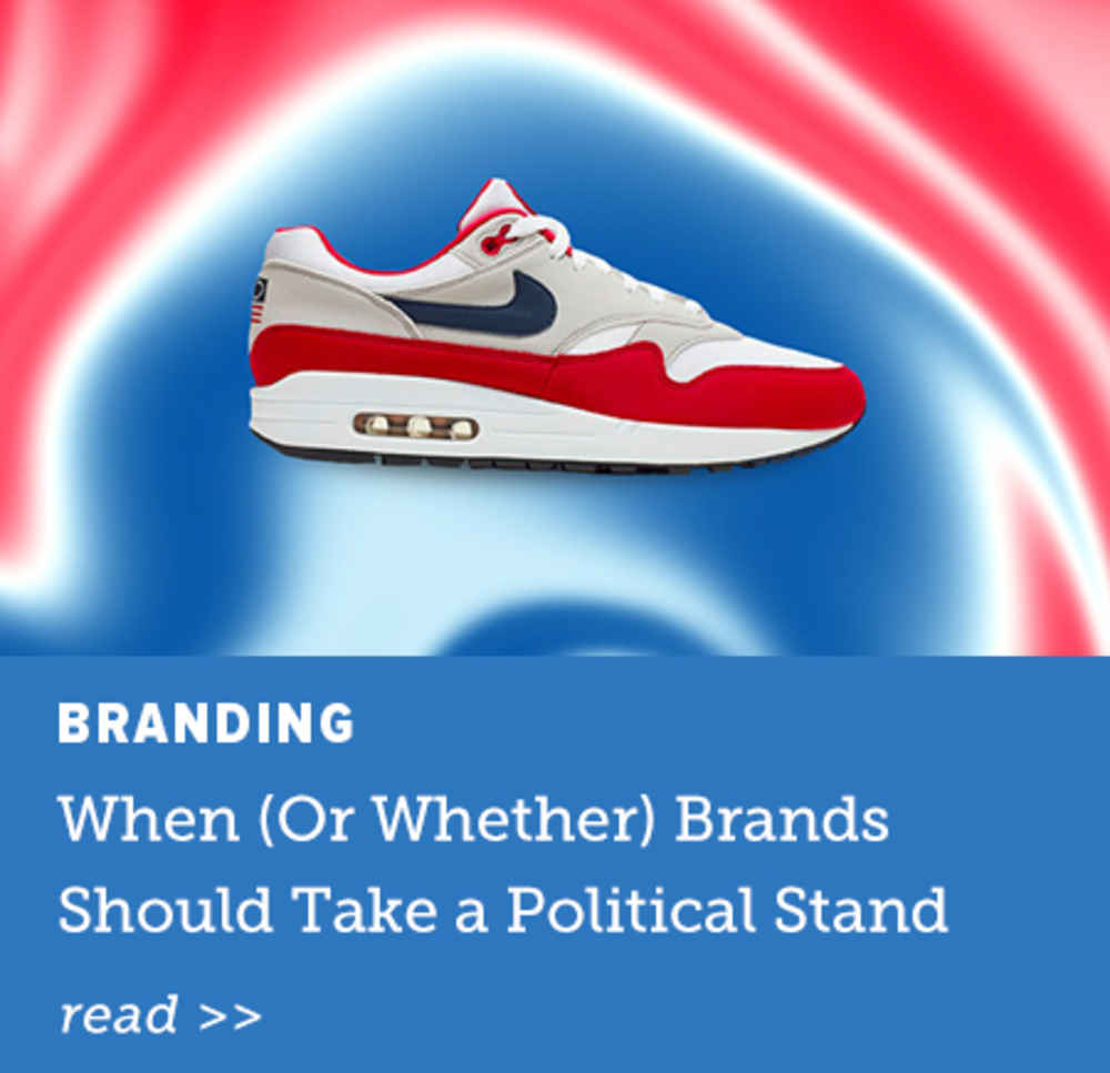 When Brands Should Take a Political Stand