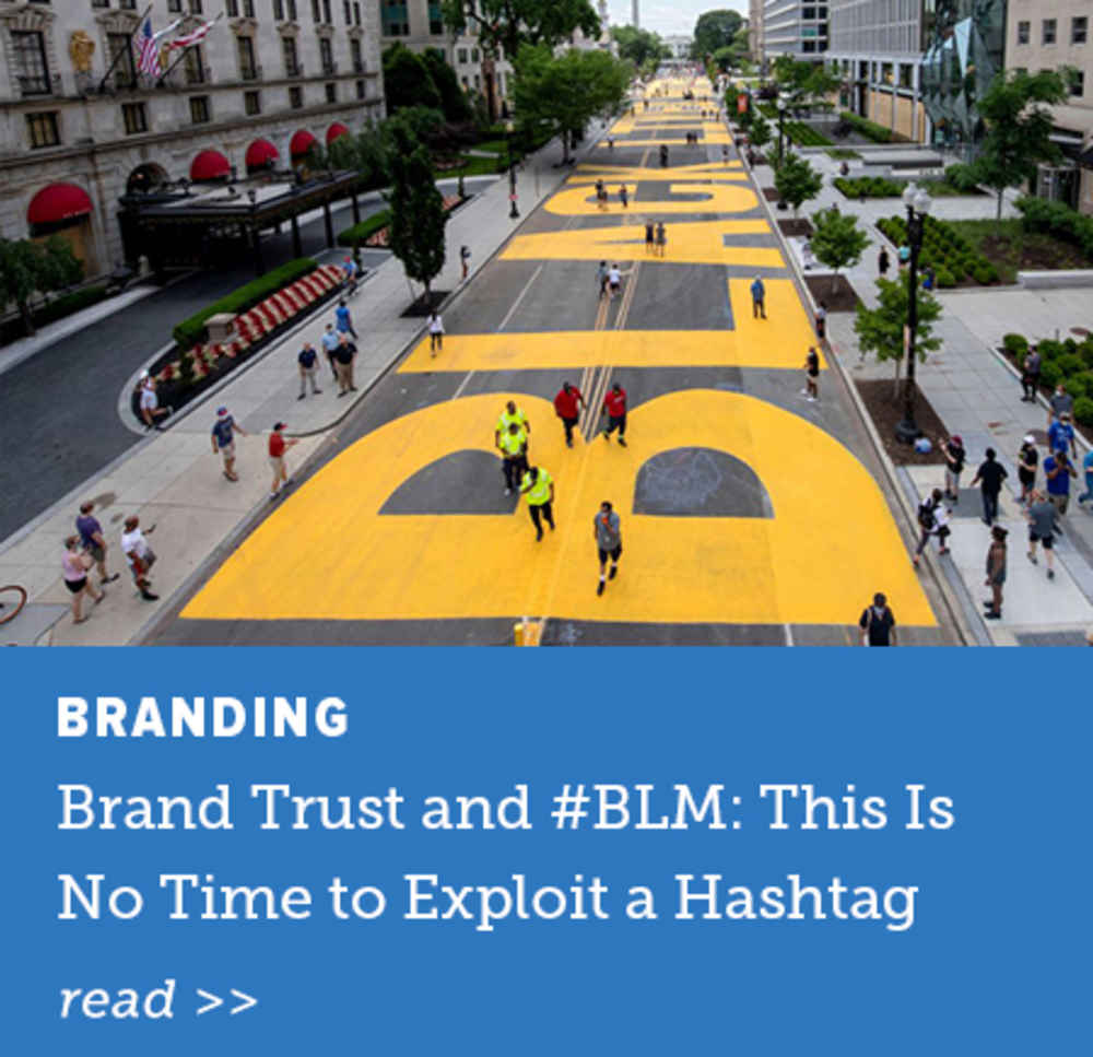 Brand Trust and #BLM