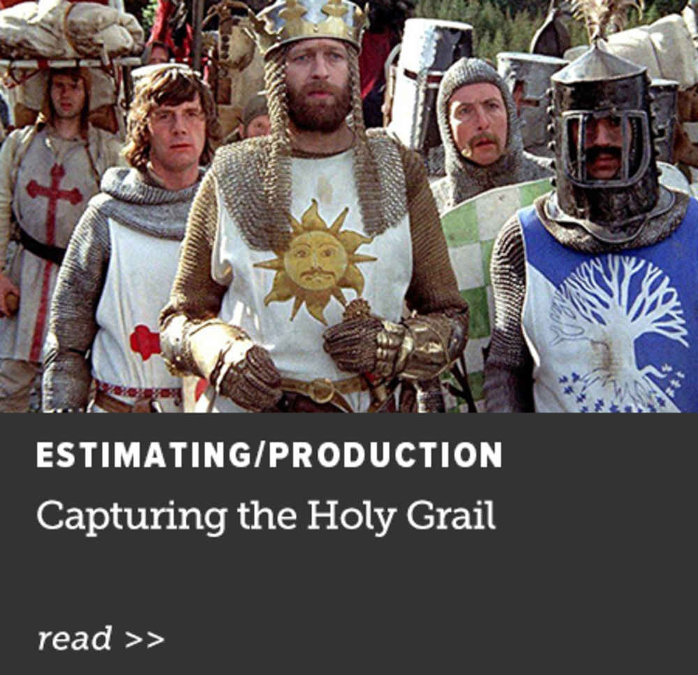 Capturing the Holy Grail