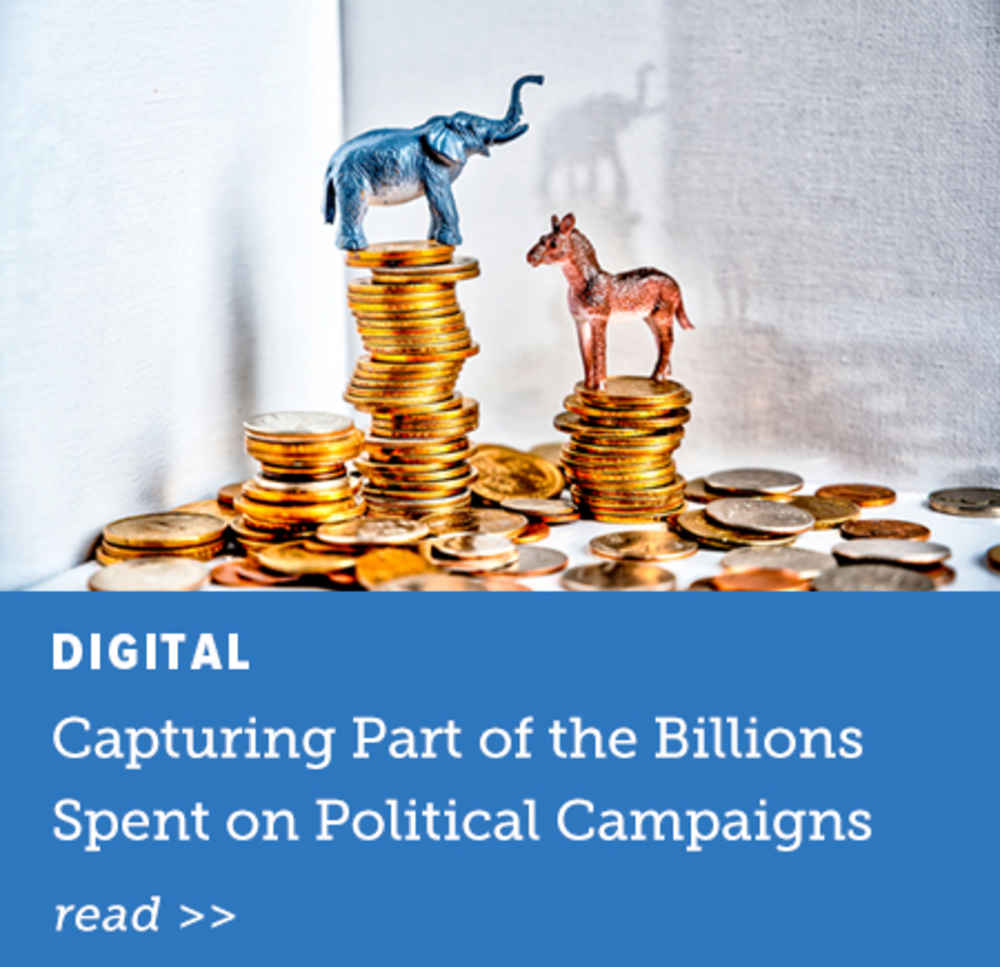 Capturing Part of the Billions Spent on Local Political Campaigns