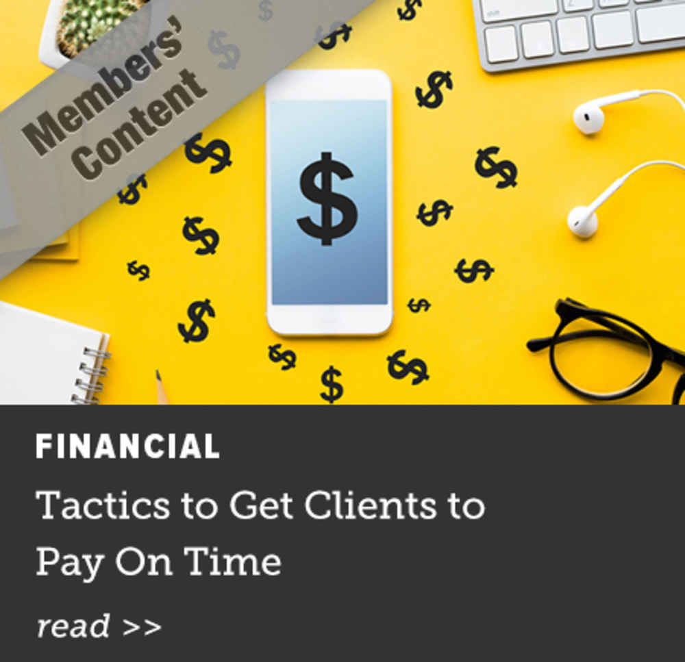 Tactics to Get Clients to Pay on Time