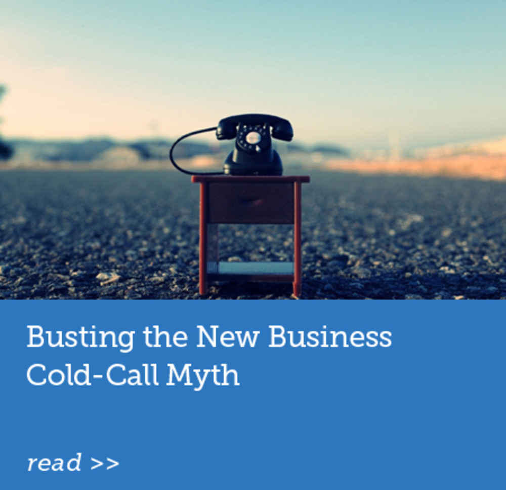 Busting the New Business Cold-Call Myth