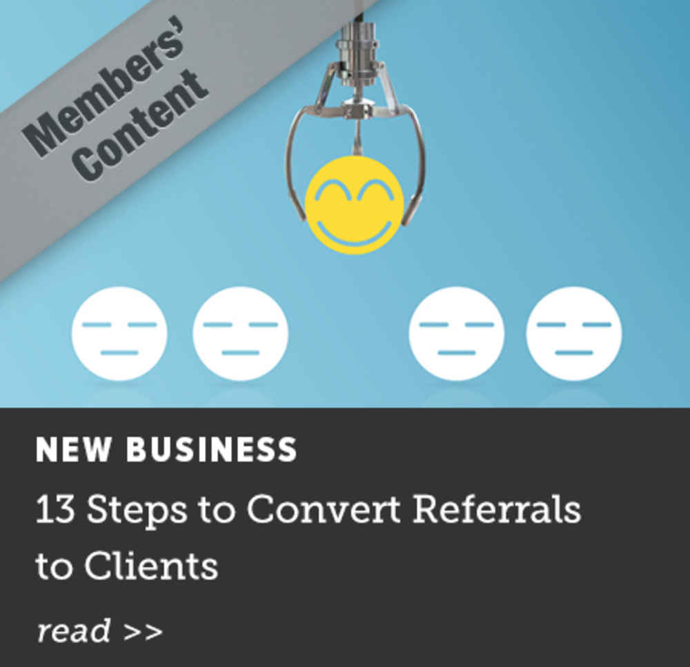 13 Steps to Convert Referrals to Clients