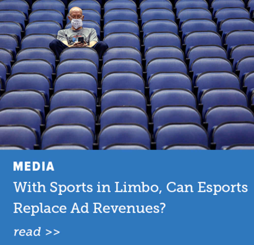 Can Esports Replace Ad Revenue?