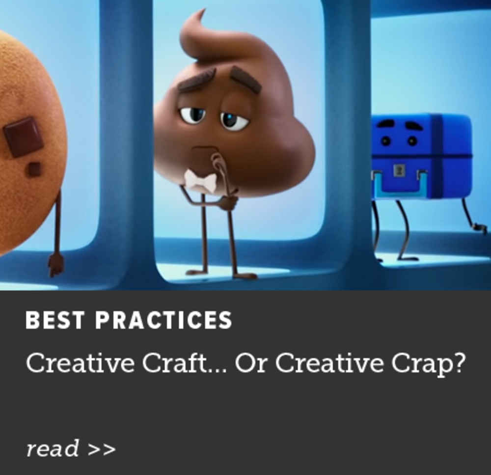Creative Craft... Or Creative Crap?