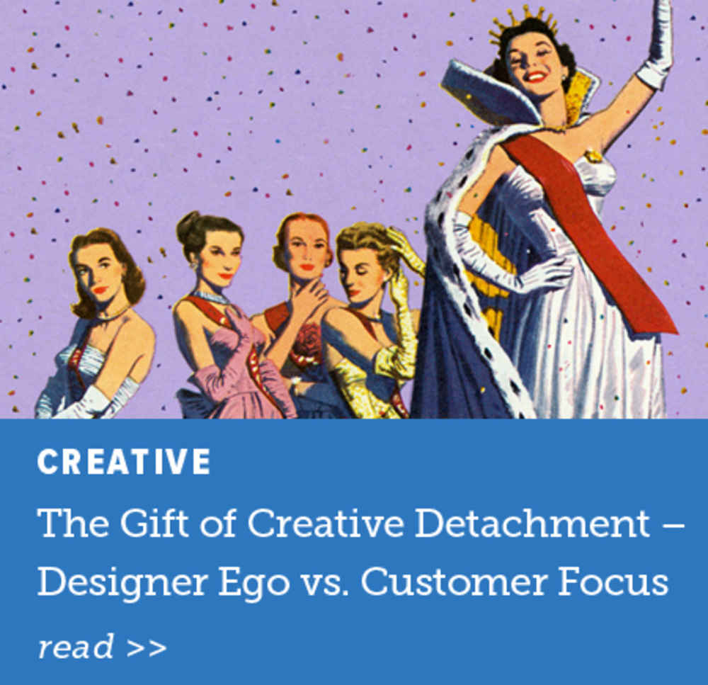 The Gift of Creative Detachment