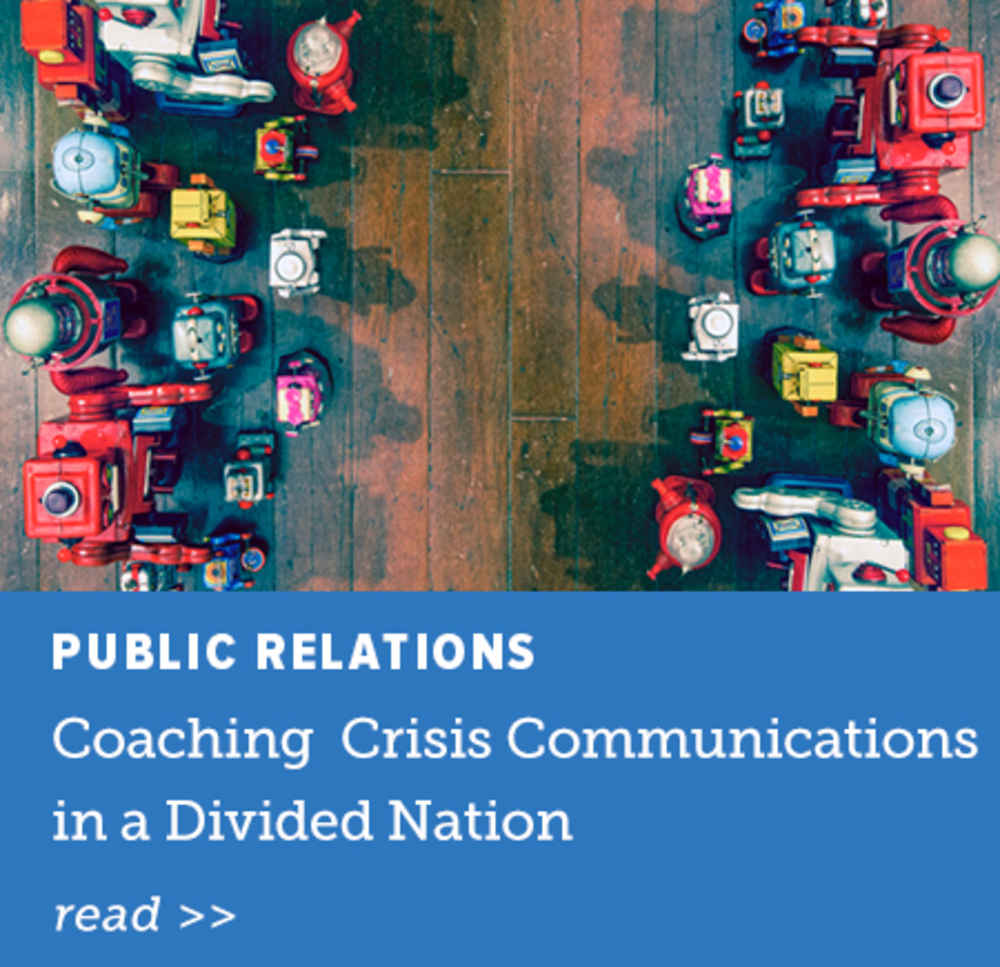 Crisis Communications Divided Nation