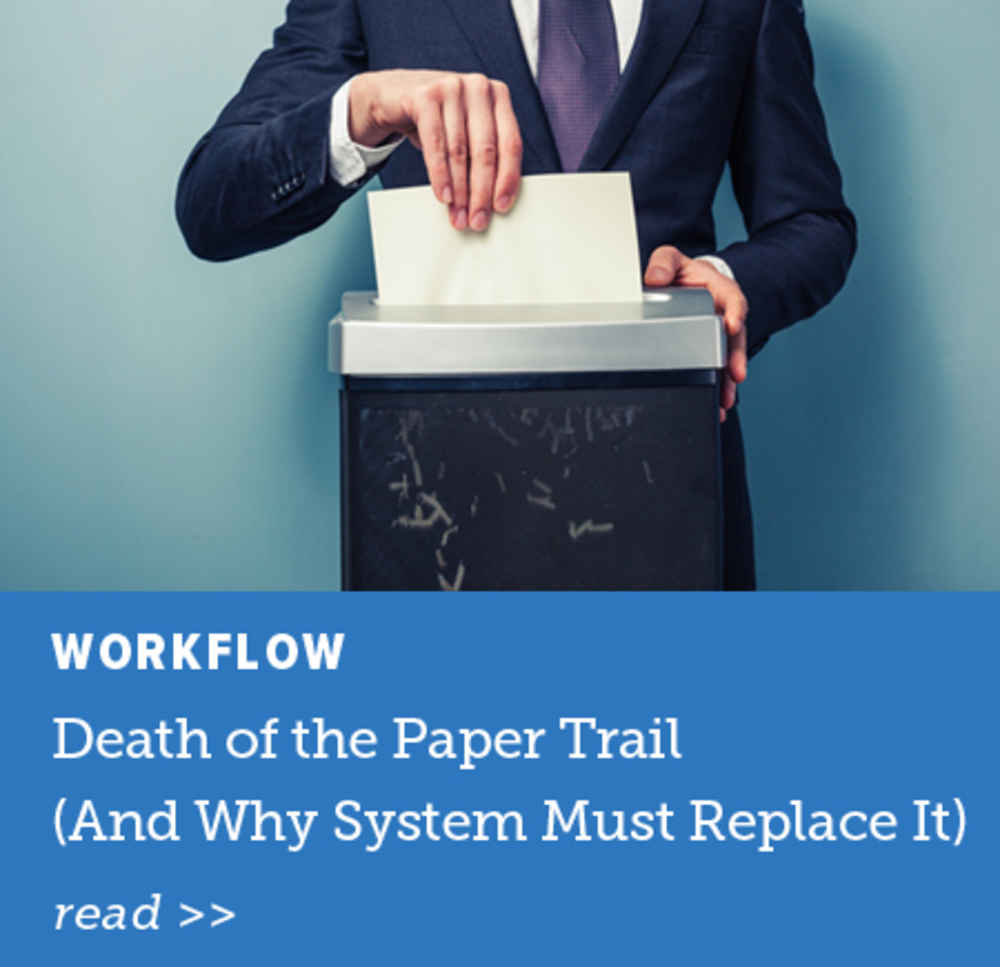 Death of the Paper Trail