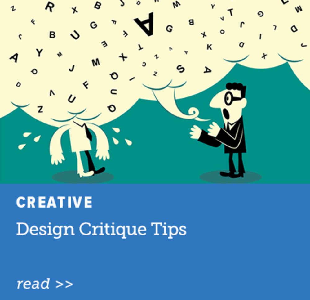 Design Critique Tips