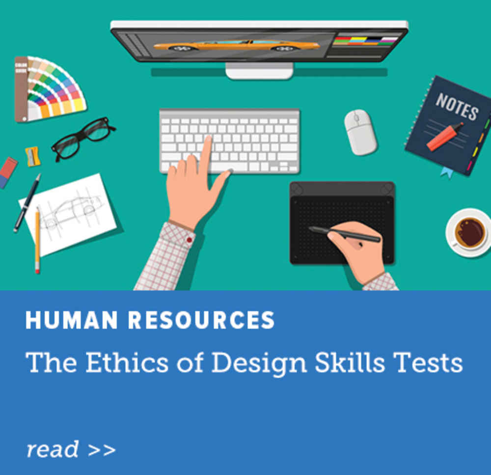 The Ethics of Design Skills Tests
