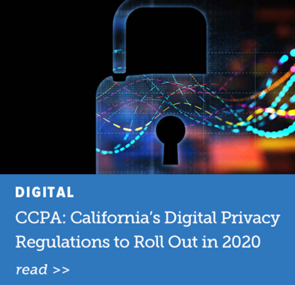 California's Digital Privacy Regulations to Roll Out in 2020