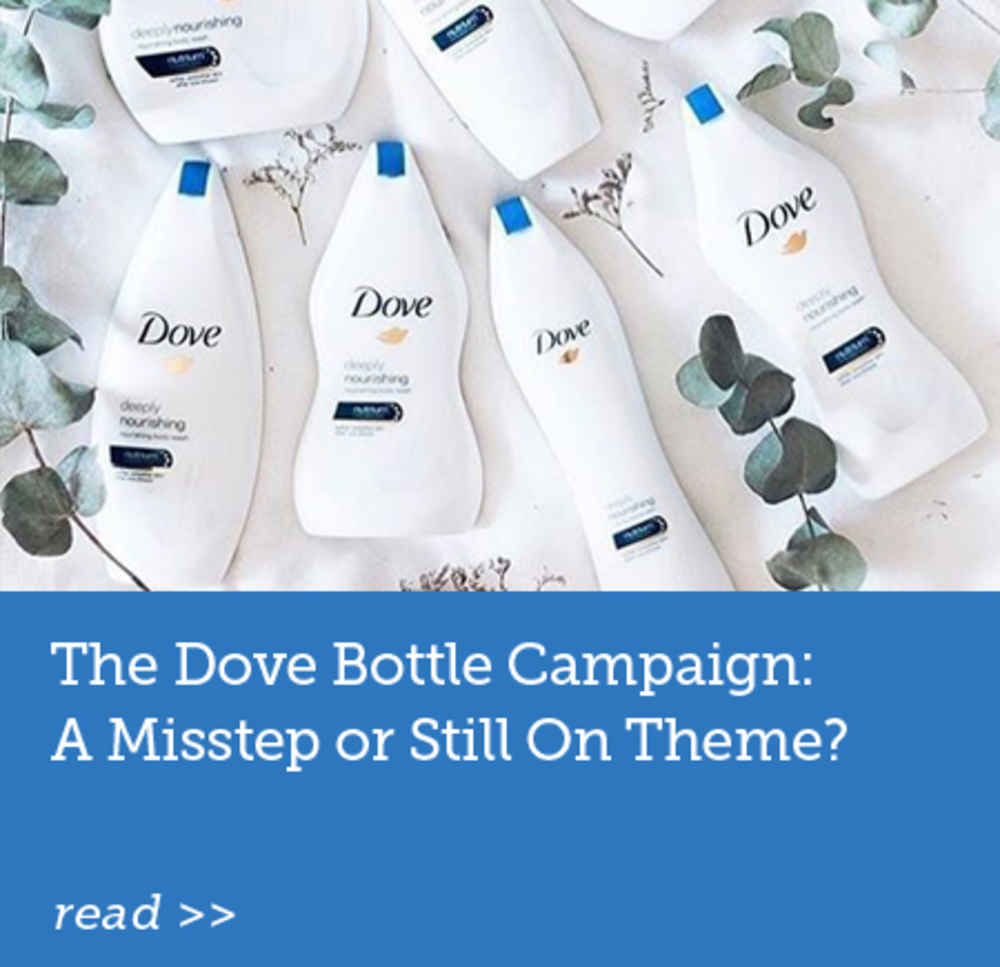 The Dove Bottle Campaign