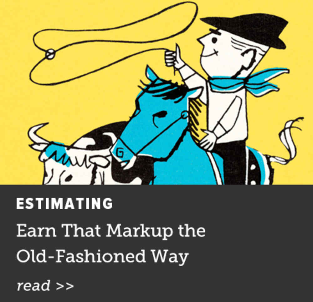 Earn That Markup
