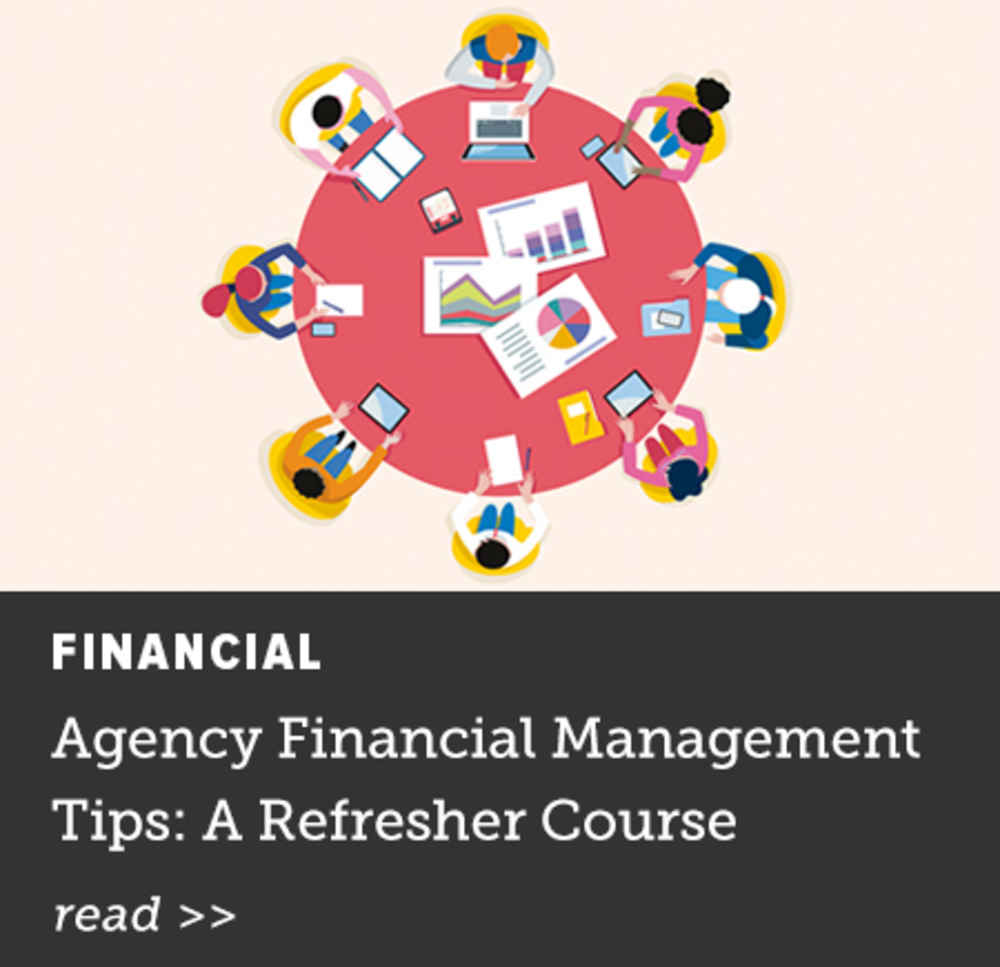 Agency Financial Management Tips