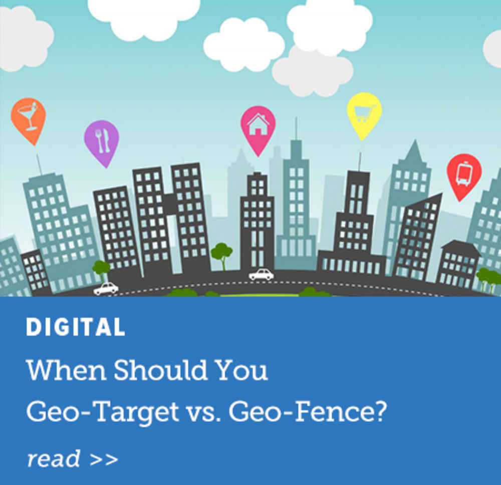 When Should You Geo-Target