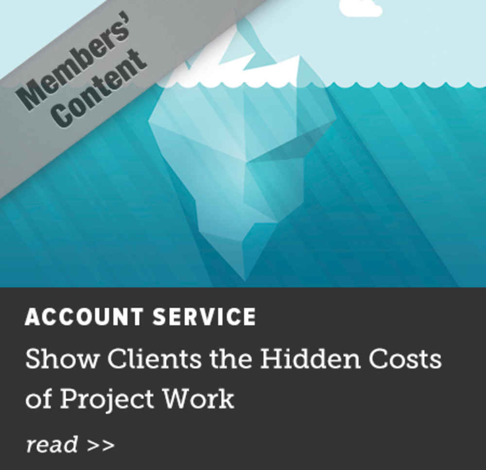 Show Clients the Hidden Cost of Project Work