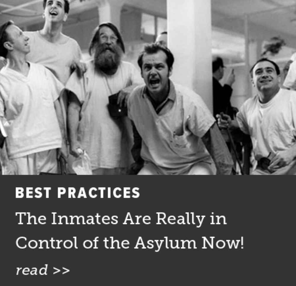 The Inmates Are Really in Control