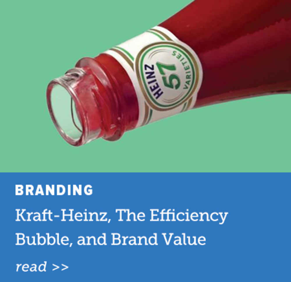 Kraft-Heinz, The Efficiency Bubble
