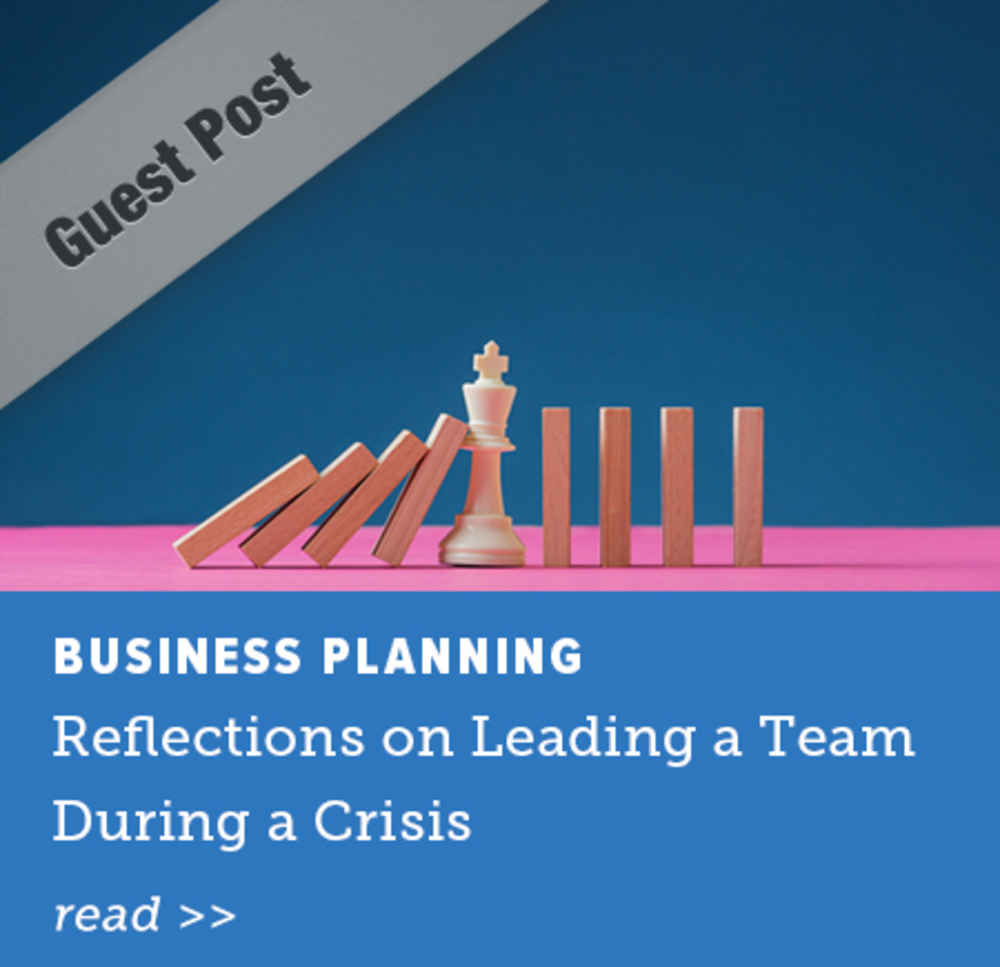 Reflections on Leading a Team During a Crisis