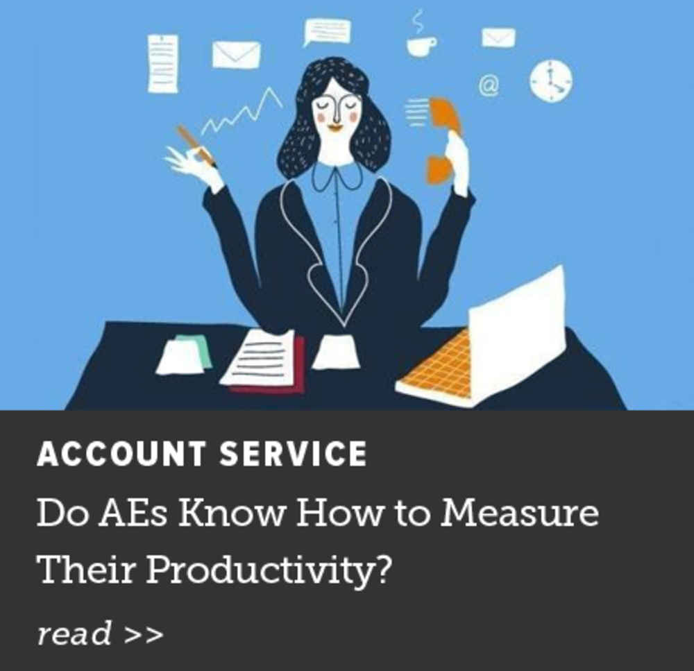 Do AEs Know How to Measure Their Productivity?