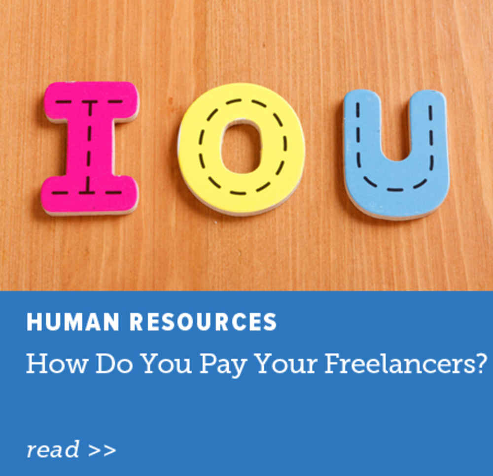 Pay Your Freelancers