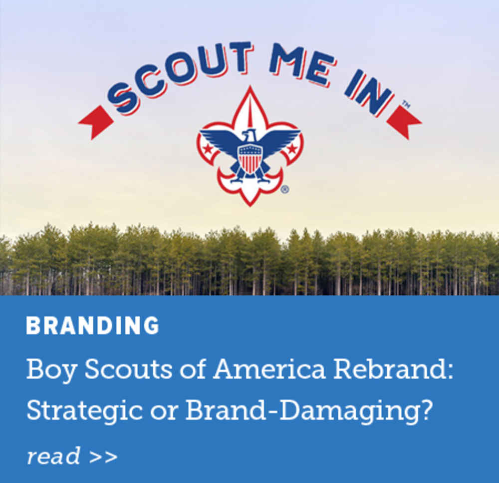 Boy Scouts of America Rebrand