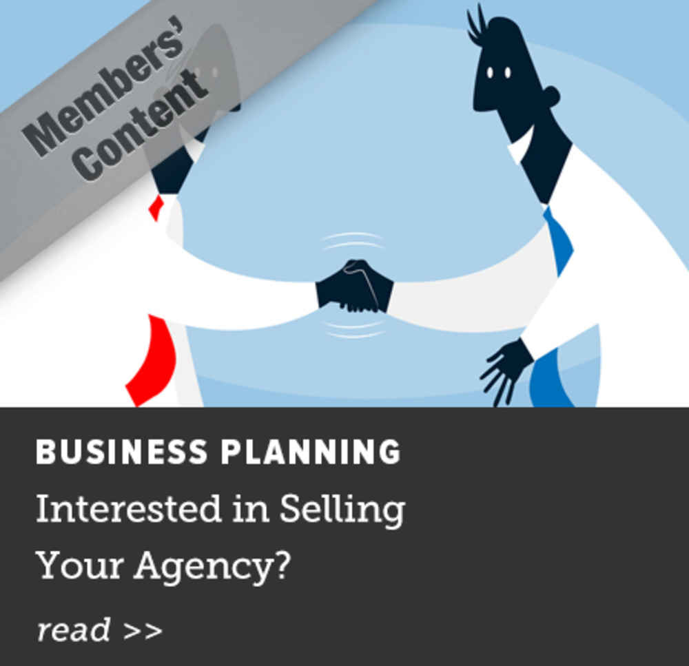 Interested in Selling Your Agency?