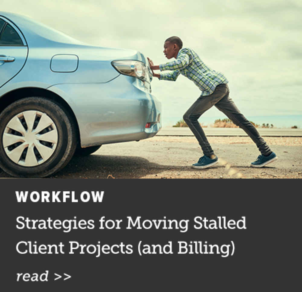 Moving Stalled Client Projects