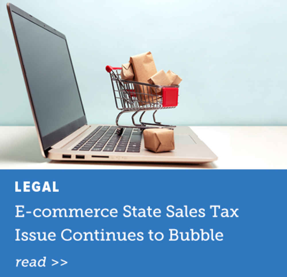 E-commerce State Sales Tax Issue