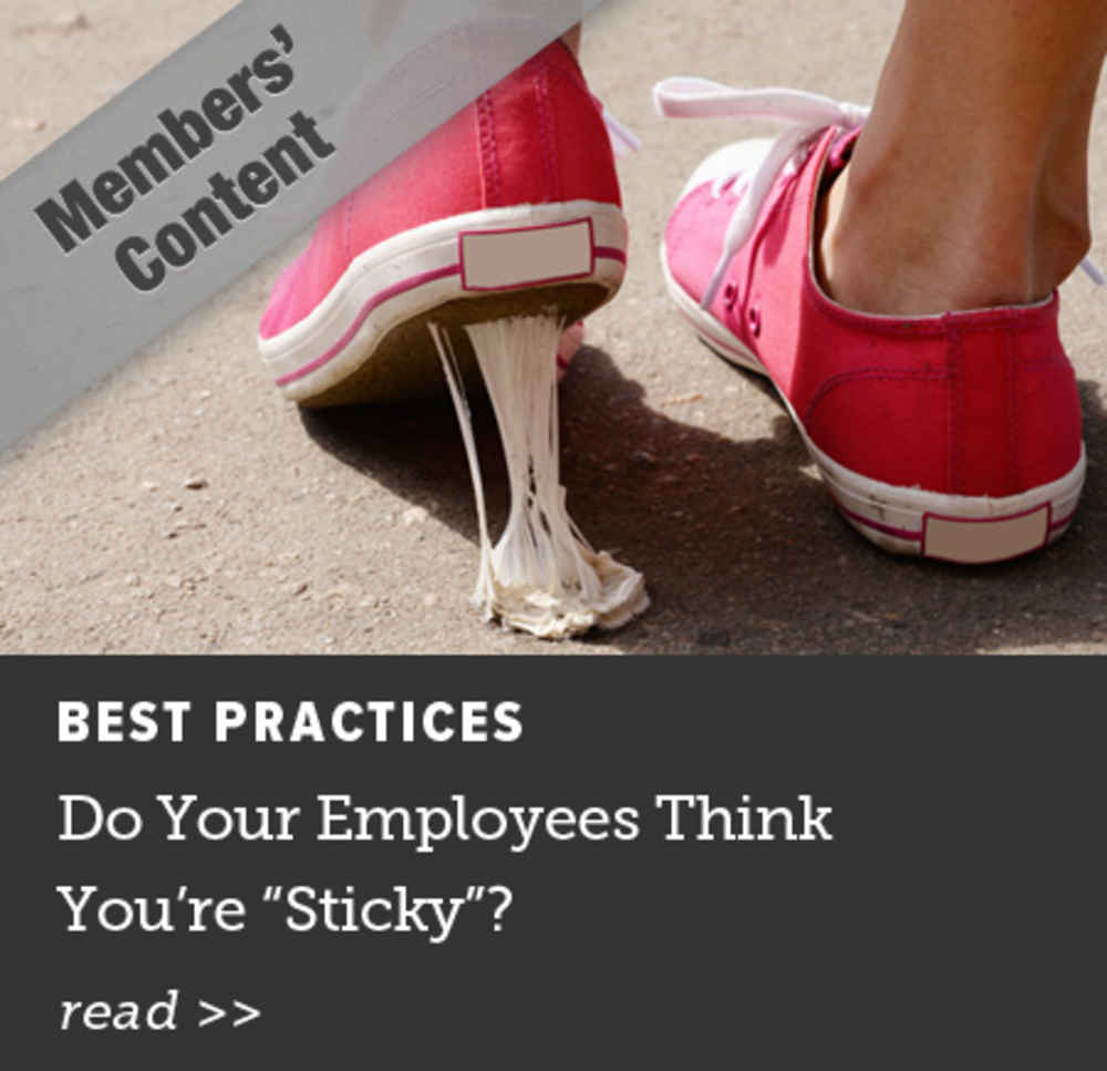 Do Your Employees Think You're Sticky
