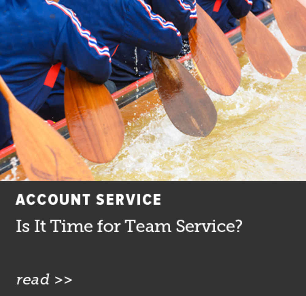 Is It Time for Team Service?