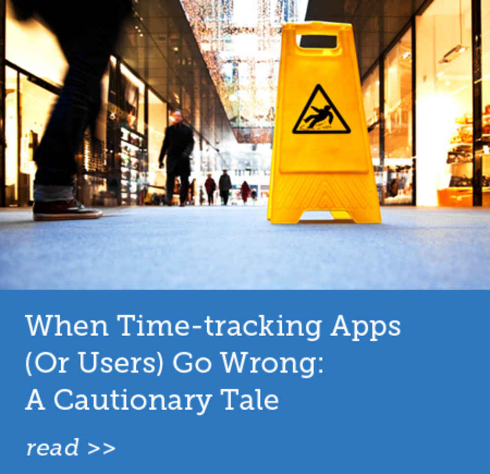 When Time-tracing Apps Go Wrong