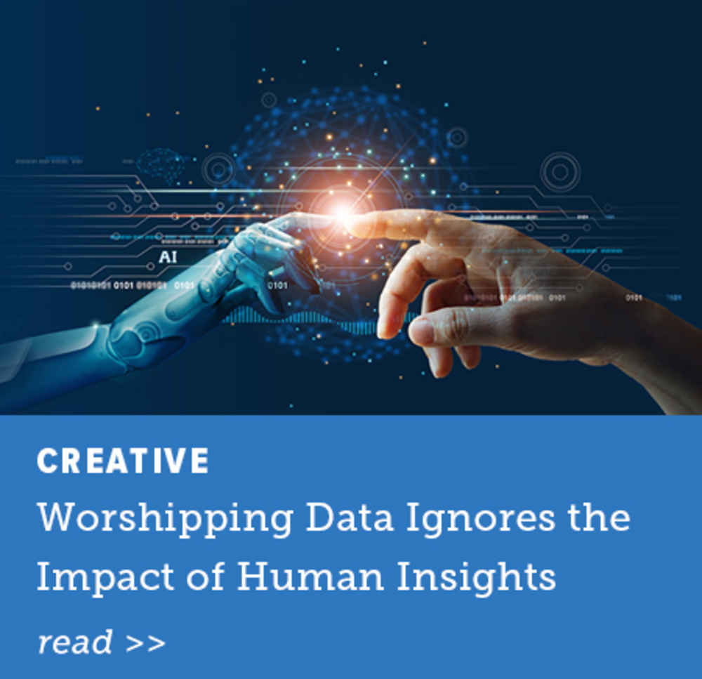 Worshipping Data Ignores the Impact of Human Insights