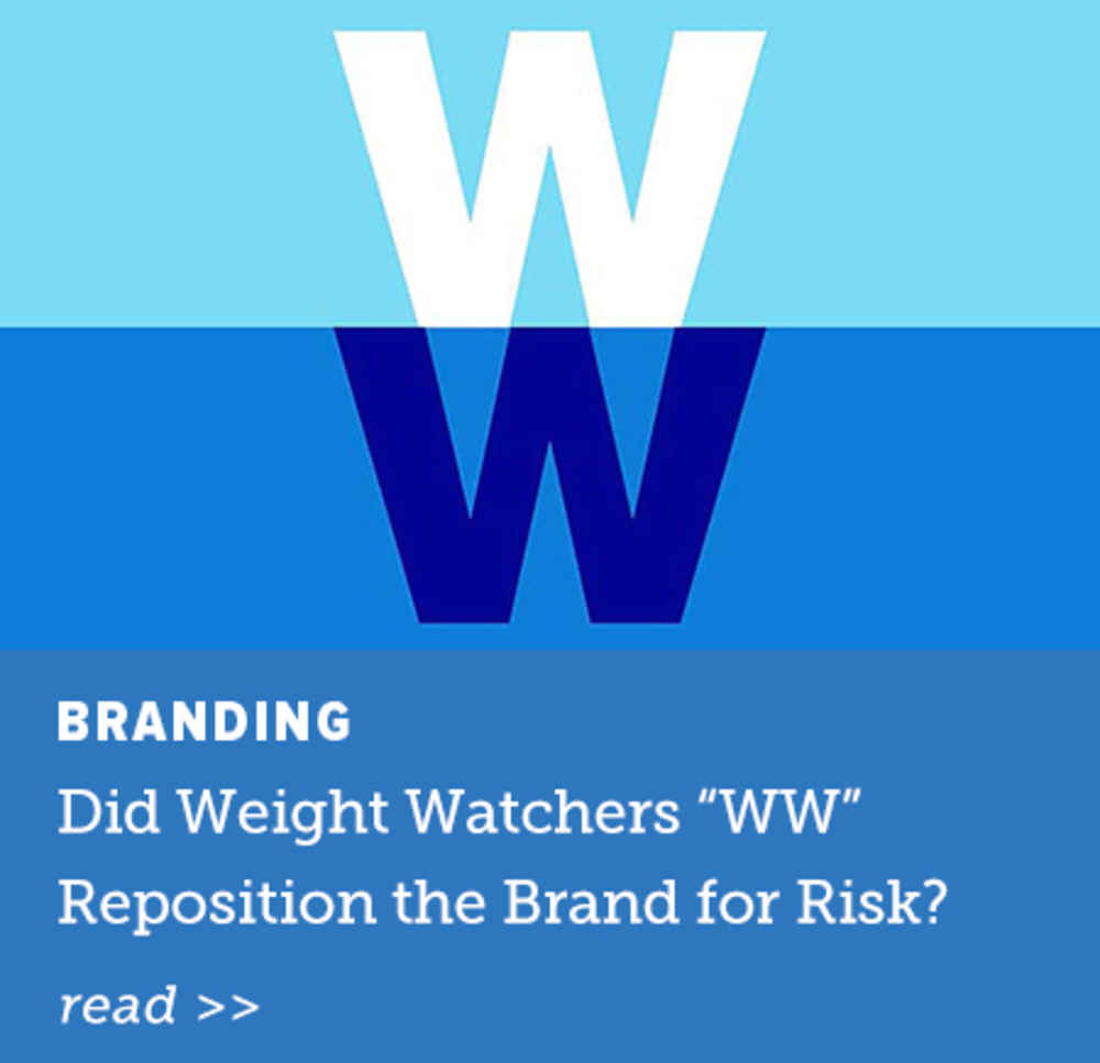 Did Weight Watchers Reposition the Brand for Risk?